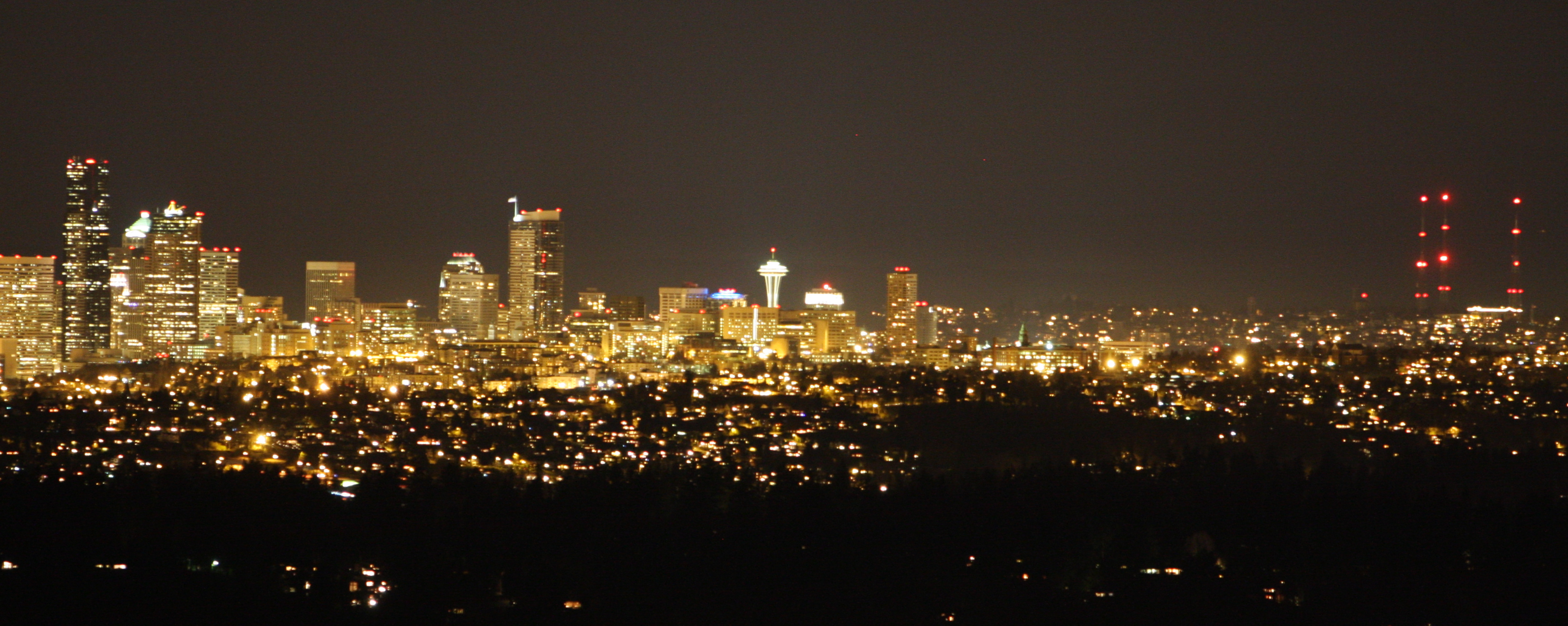 Cover Image for Seattle by Night